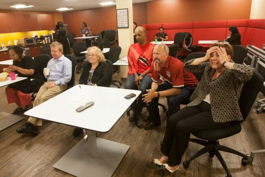 They could not believe it when Belgium scored just a few minutes after the restart. Photo: Douglas Zimmerman, Courtesy