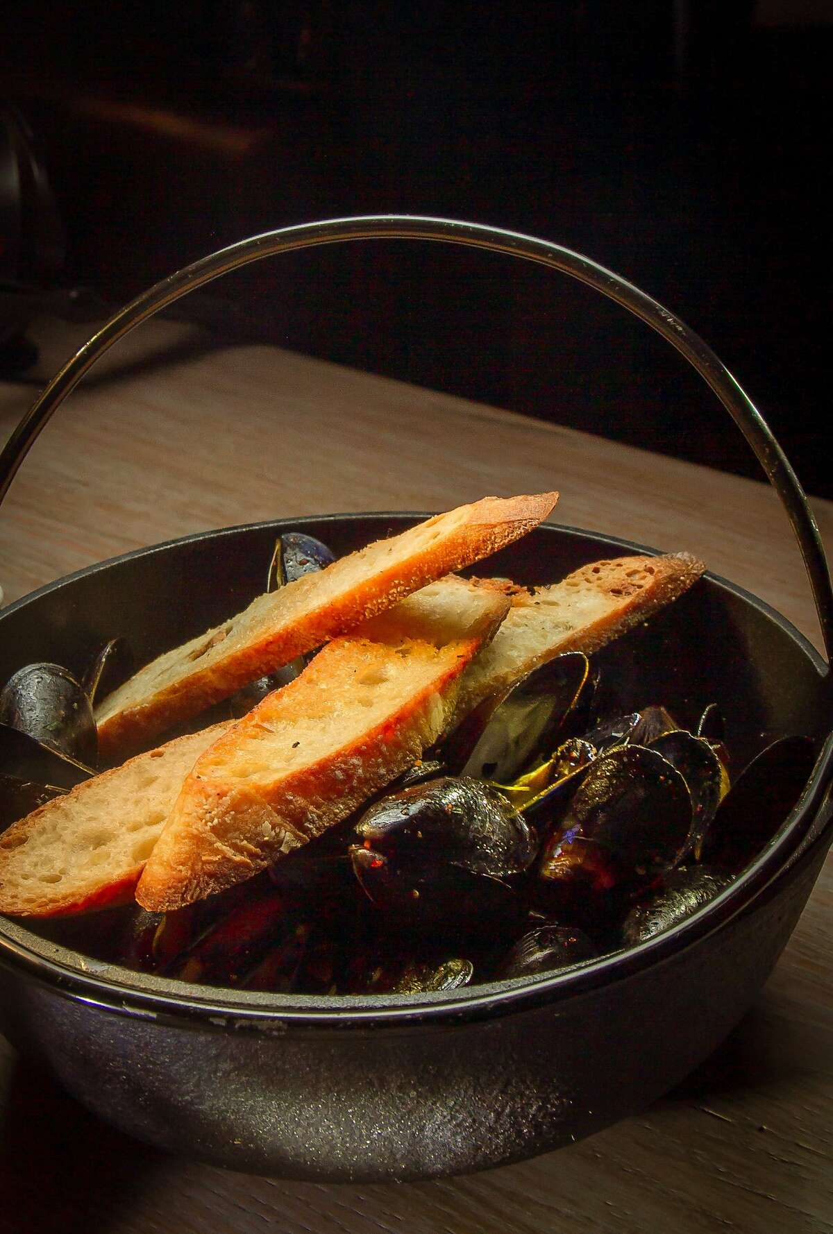 The Mussels at the Dirty Habit restaurant in San Francisco, Calif., is seen on Thursday, June 26th 2014.