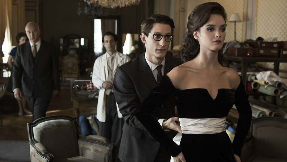 Pierre Niney and Charlotte Le Bon star as Yves Saint Laurent and Victoire Doutreleau in the biography of the French fashion designer. Photo: Thibault Grabherr, The Weinstein Company