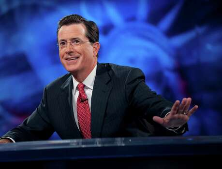 Comedian Stephen Colbert officially announced the end date of the 'Colbert Report' on Comedy Central: Dec. 18. Photo: Scott Gries, Contributor / 2010 Scott Gries