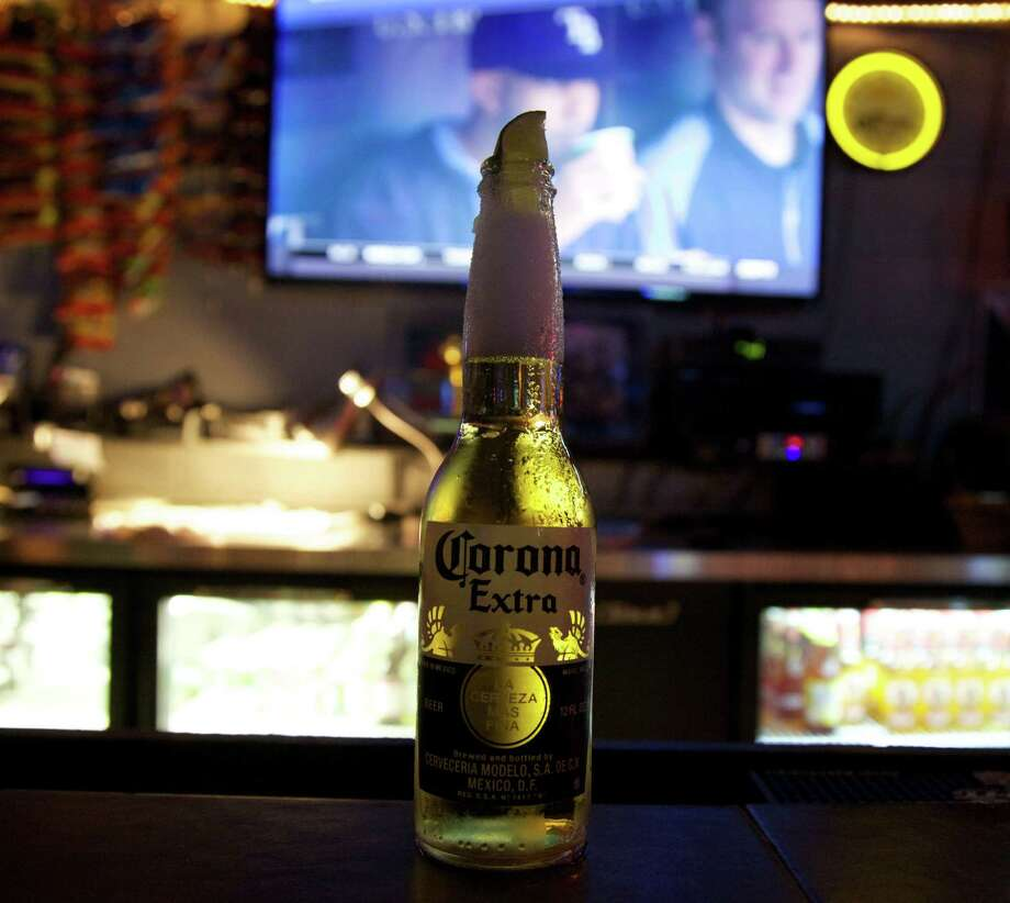 A Corona with salt and lime at Crazy J's Photo: Photos By Xelina Flores / For The Express-News / For the Express News