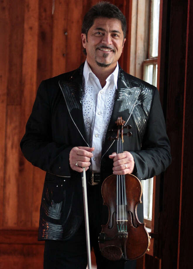 Bobby Flores studied  classical violin at Trinity University and has played on more than 400 albums. Photo: Courtesy Bobby Flores