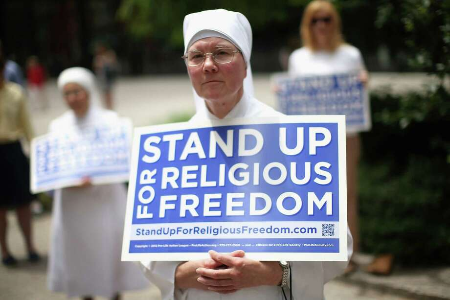 The Health and Human Services mandate of the Affordable Care Act would require many religious ministries to change health care plans to 