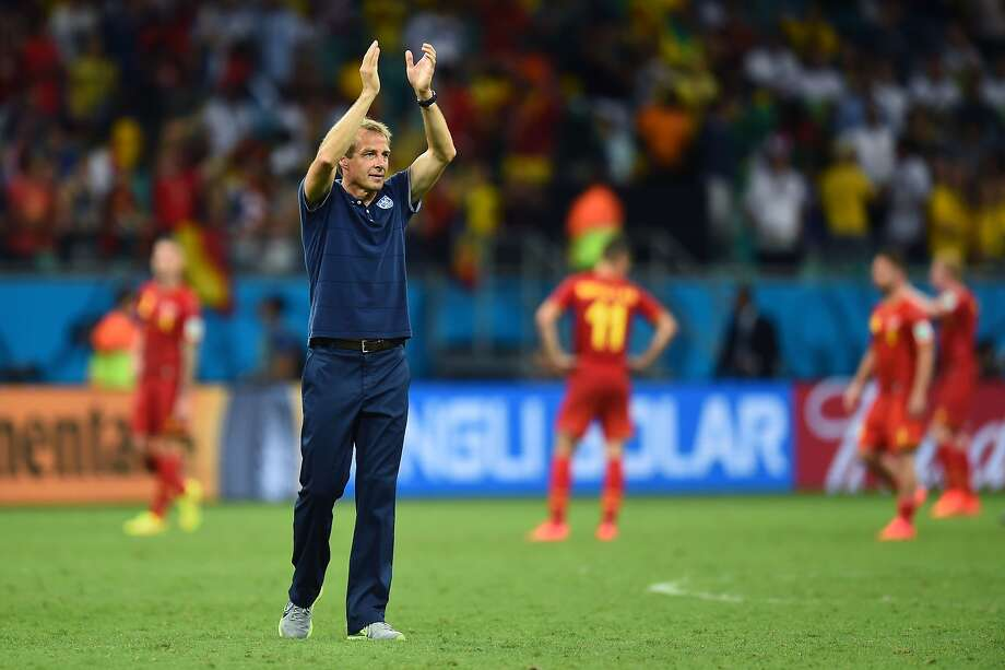 As U.S. Soccer's technical director and national team coach, Jurgen Klinsmann is in charge of rebuilding the roster leading up to the 2018 World Cup. Photo: Jamie McDonald, Getty Images