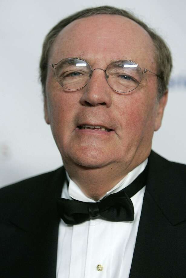 Novelist James Patterson says writing is at stake. Photo: Stephen Chernin, Associated Press