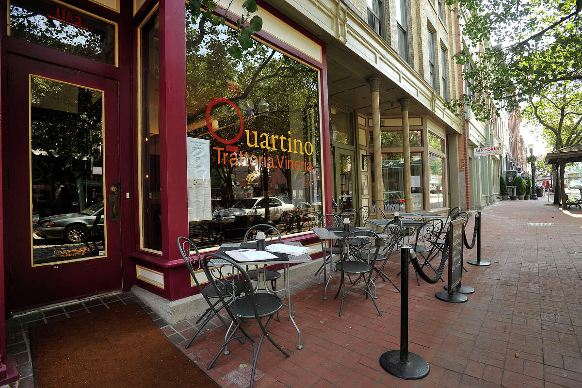 Quartino Trattoria and Vineria is located in the heart of SONO on Washington Street in South Norwalk, Conn., on Wednesday, July 2, 2014.