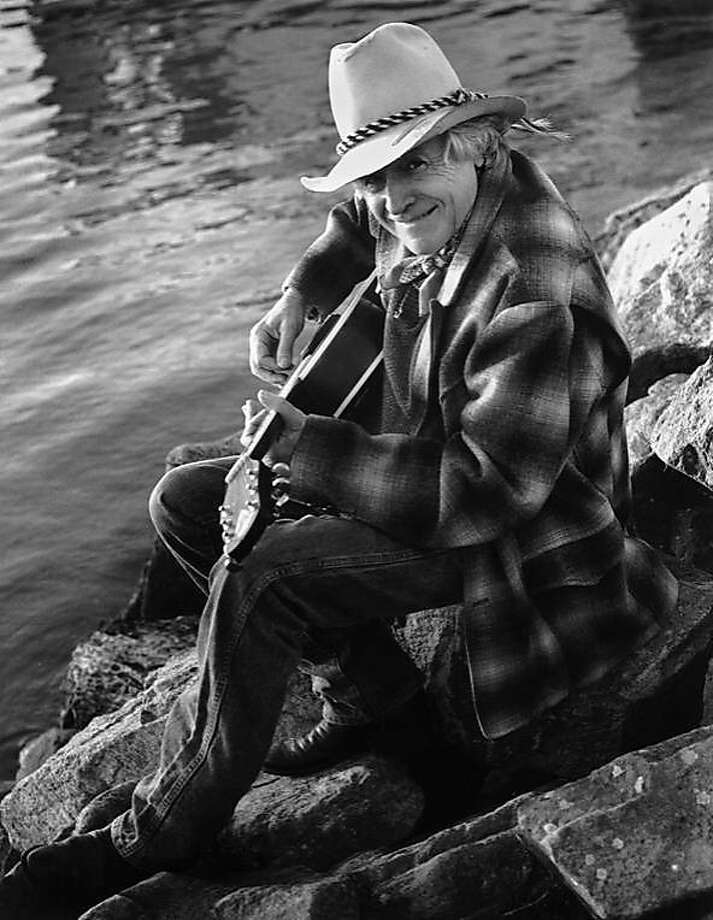 """Ramblin' Jack Elliott is one of the singers who appear in the new picture book """"American Jukebox"""" by Chris Felver. Photo: Chris Felver"""