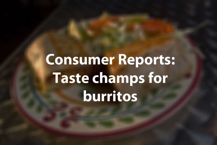 Americans want higher-quality fast food and ingredients, and that means restaurants have to be at the top of their burrito game. Consumer Reports has a list of the burritos that are at the top of readers' charts.Source: Consumer Reports Photo: Eric Kayne, Houston Chronicle