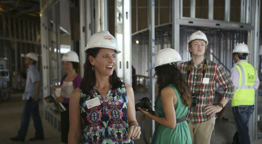 Vanessa Lacoss Hurd, executive director of the Do Seum, talks about the new 65,000-square-foot facility. Photo: Helen L. Montoya / San Antonio Express-News / ©2014 San Antonio Express-News