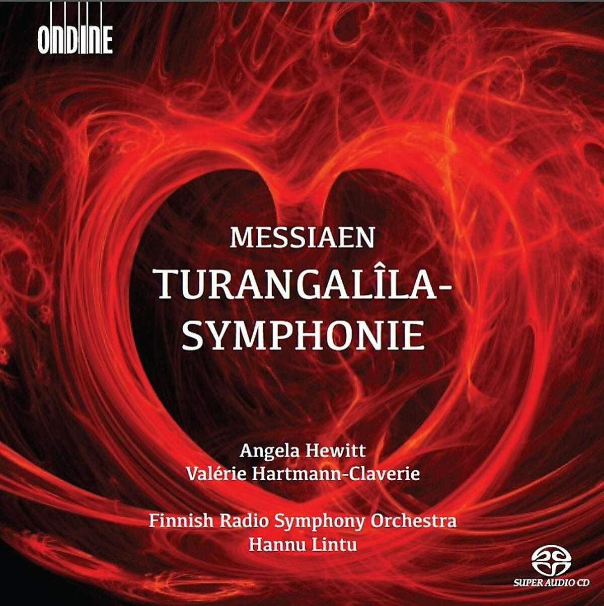 CD cover: Messiaen, Turangalîla-Symphonie