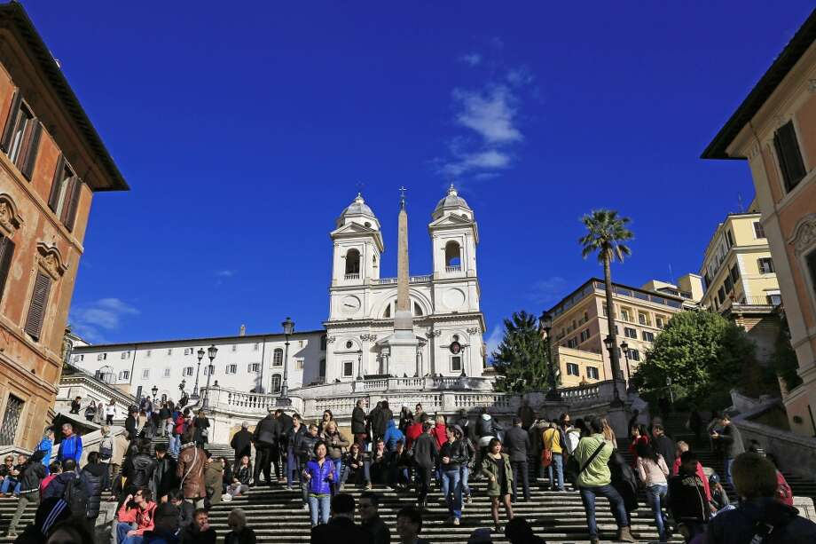 No. 4 least welcoming: Rome.Watch your step at the Spanish Steps — the Eternal City has a brusque element, according to a new survey of global travelers. Photo: Hans-Peter Merten, Getty Images