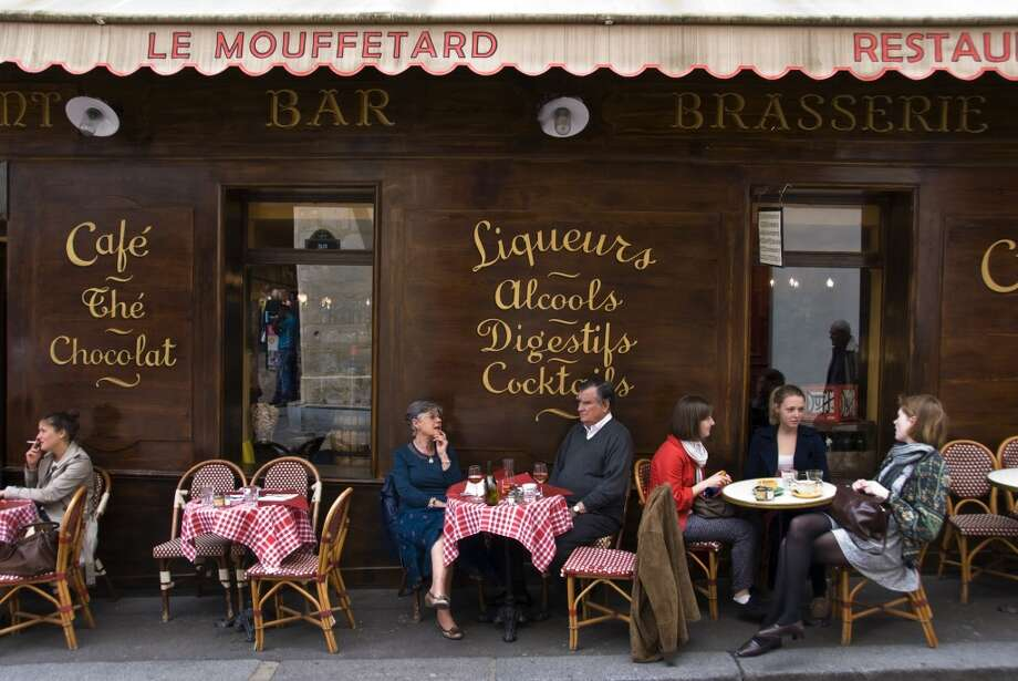 Cafe, Rue Mouffetard, Paris Photo: Dennis K. Johnson, Getty Images/Lonely Planet Images