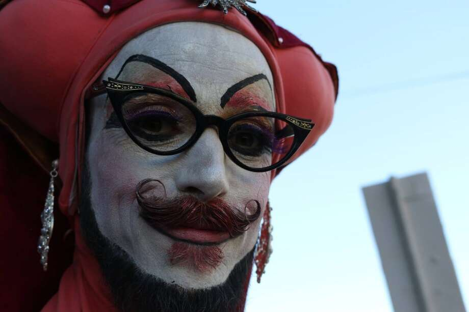 A Sister of Perpetual Indulgence (pictured) was attacked on Pink Saturday in the Castro. The sisters are asking if anyone witnessed the attack to contact the San Francisco Mission Police Station. Photo: Https://www.facebook.com/StopTheViolence