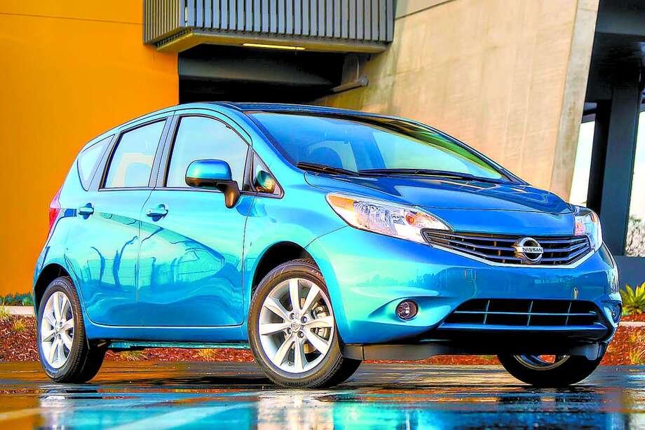 10. The 2014 Nissan Versa NoteSource: KBB.com