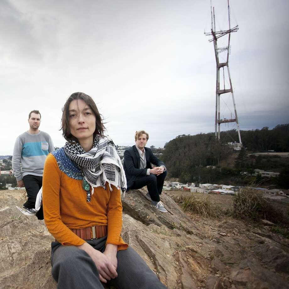 Odd Owl: Adam Wadenius (left), Carmen Caruso and Phil Jacobsen Photo: Erik Anderson