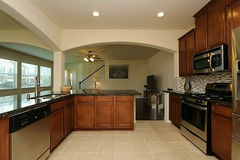 8343 Lamond: This 2014 home in Houston has 3 bedrooms, 2.5 bathrooms, 2,009 square feet, and is listed for $179,900. Open house: July 6, 2014 from 2 p.m. to 5 p.m. Photo: Houston Association Of Realtors