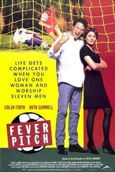 """Fever Pitch"" – With the football championships around the corner, an English literature teacher at a British high school who's a loyal Arsenal soccer fan doesn't have time for love -- or so he thinks until he meets a woman whose devotion lies elsewhere. Available July 1 Photo: Channel Four Films"