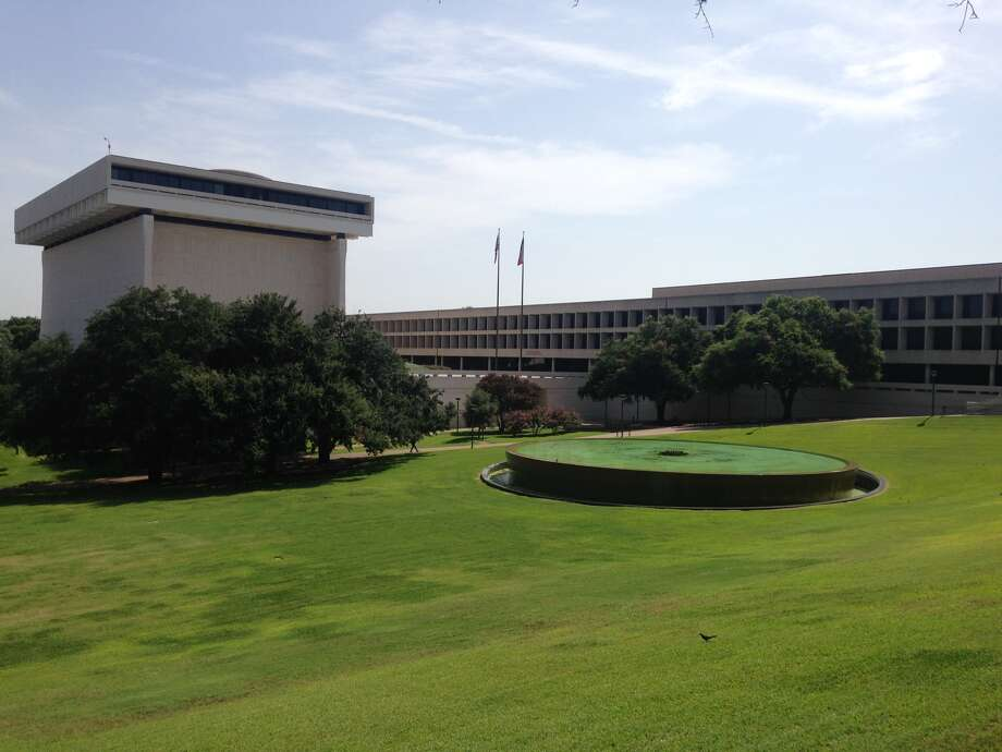The University of Texas cracked the top 50 on Center for World University Rankings' list of the world's top 1000 universities, coming in at 29.Pictured, the Lyndon B. Johnson Presidential Library and Museum (left) and the LBJ School of Public Affairs reside on the University of Texas at Austin campus.