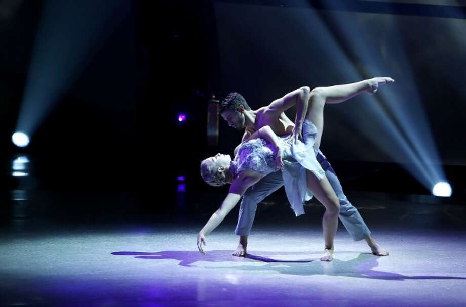 "SO YOU THINK YOU CAN DANCE: L-R: Top 20 contestants Jessica Richens and Ricky Ubeda perform a Contemporary routine to ""Vow"" choreographed by Sonya Tayeh on SO YOU THINK YOU CAN DANCE airing Wednesday, July 2 (8:00-10:00 PM ET/PT) on FOX. ©2014 FOX Broadcasting Co. Cr: Adam Rose / 1"