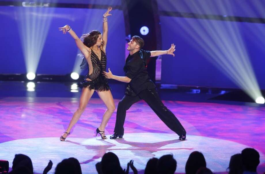 "SO YOU THINK YOU CAN DANCE: L-R: Top 20 contestants Brooklyn Fullmer and Serge Onik perform a Cha-Cha routine to ""Hell Yeah""  choreographed by Dmitry Chaplin on SO YOU THINK YOU CAN DANCE airing Wednesday, July 2 (8:00-10:00 PM ET/PT) on FOX. ©2014 FOX Broadcasting Co. Cr: Adam Rose / 1"