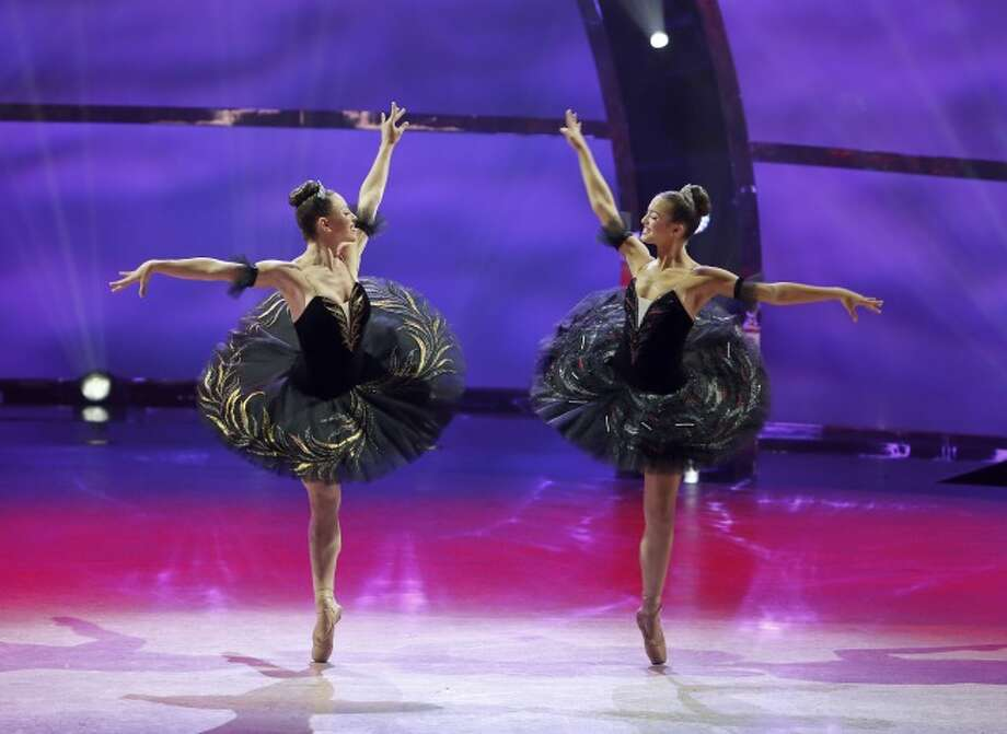 "SO YOU THINK YOU CAN DANCE: L-R: Top 20 contestants Jacque LeWame and Jourdan Epstein perform a Ballet routine to ""Pas De Deux - Swan Lake"" choreographed by Marat Daukayev on SO YOU THINK YOU CAN DANCE airing Wednesday, July 2 (8:00-10:00 PM ET/PT) on FOX. ©2014 FOX Broadcasting Co. Cr: Adam Rose / 1"