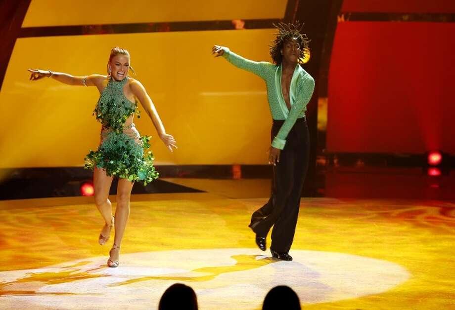 "SO YOU THINK YOU CAN DANCE: L-R: Top 20 contestants Malene Ostergaard and Marcquet Hill perform a Samba routine to ""Morning Drums"" choreographed by Louis van Amstel on SO YOU THINK YOU CAN DANCE airing Wednesday, July 2 (8:00-10:00 PM ET/PT) on FOX. ©2014 FOX Broadcasting Co. Cr: Adam Rose / 1"