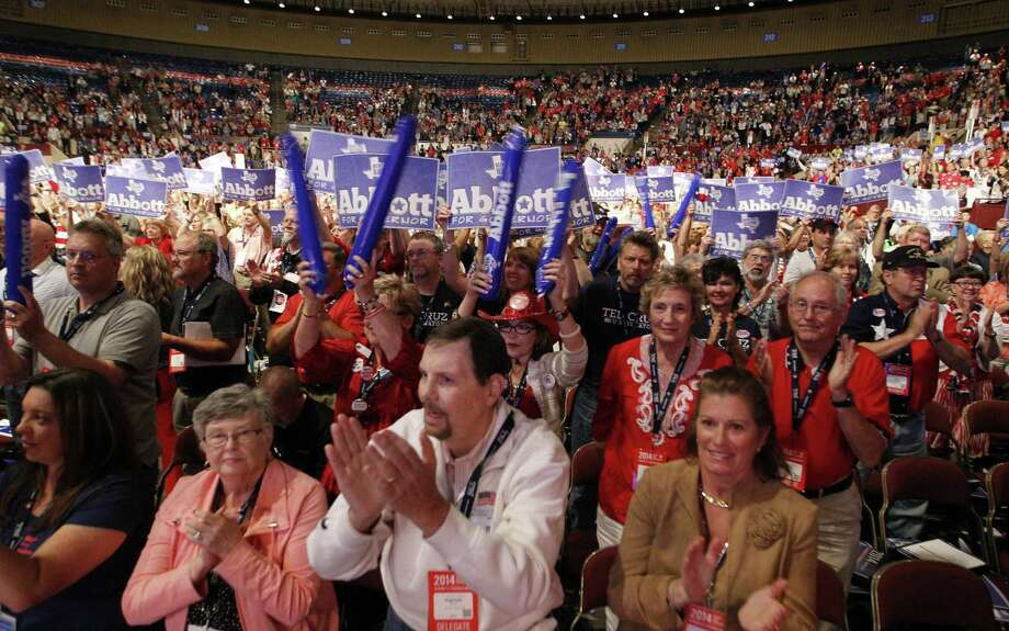 Delegates cheer during the Texas Republican Convention in Fort Worth last month. Let's start making smarter decisions. Photo: Rodger Mallison / Fort Worth Star-Telegram / Fort Worth Star-Telegram