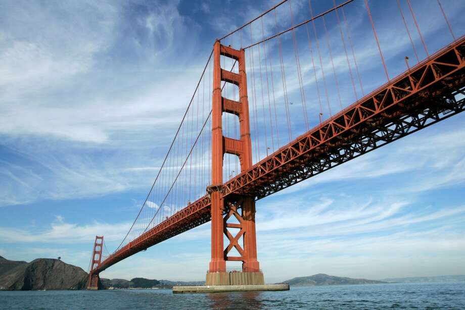1. $15 boat tour from Fisherman's Wharf circles South Tower of Golden Gate Bridge Photo: Eric Risberg, Associated Press