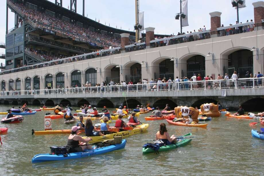 2. Rent a kayak at City Kayak and paddle short distance to McCovey Cove Photo: City Kayak
