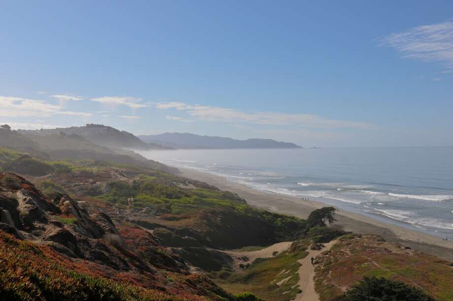 6. From Fort Funston, you can hike south on the beach for miles to Center Hole Photo: Stefanie Renee Lindeen, Www.stefanierenee.net
