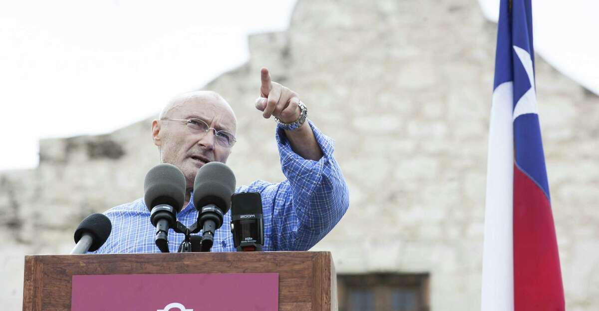 All Texans should offer a heartfelt thank you to singer Phil Collins for his gift of Alamo-related artifacts.