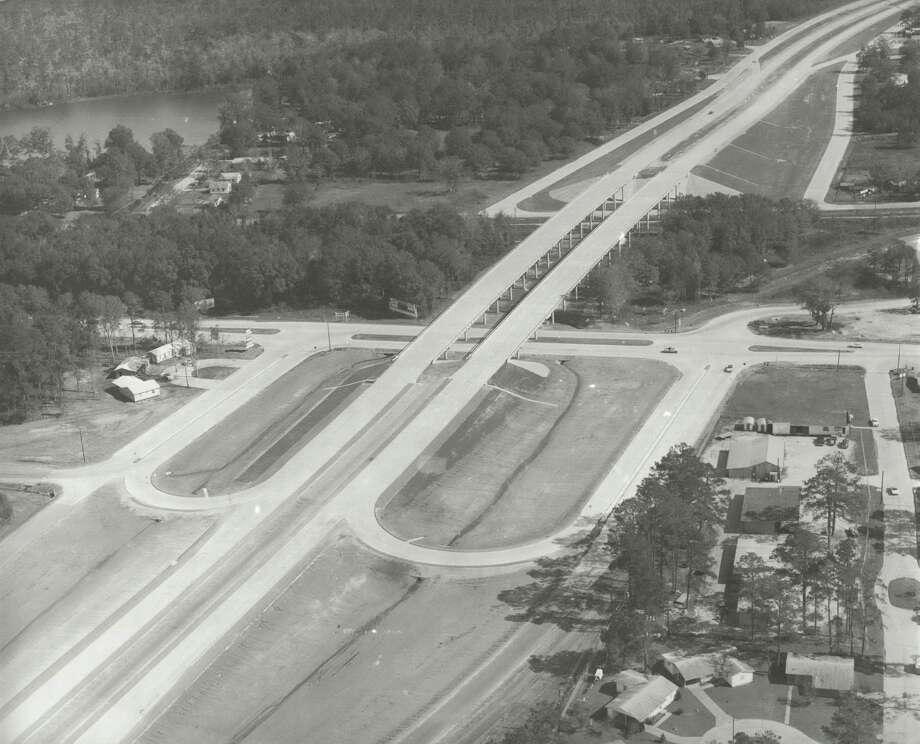 This historic photo shows I-10 at 16th Street in Orange. The Texas Department of Transportation recently started a project to completely rebuild the interchange and I-10 between Adams Bayou and the state line.    Photo: Texas Department of Transportation