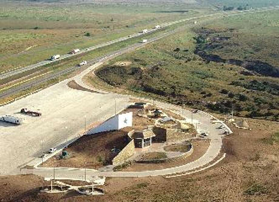 Gray County SRALocation: East of Amarillo, along I-40, exit 131 westbound Photo: Texas Department Of Transportation
