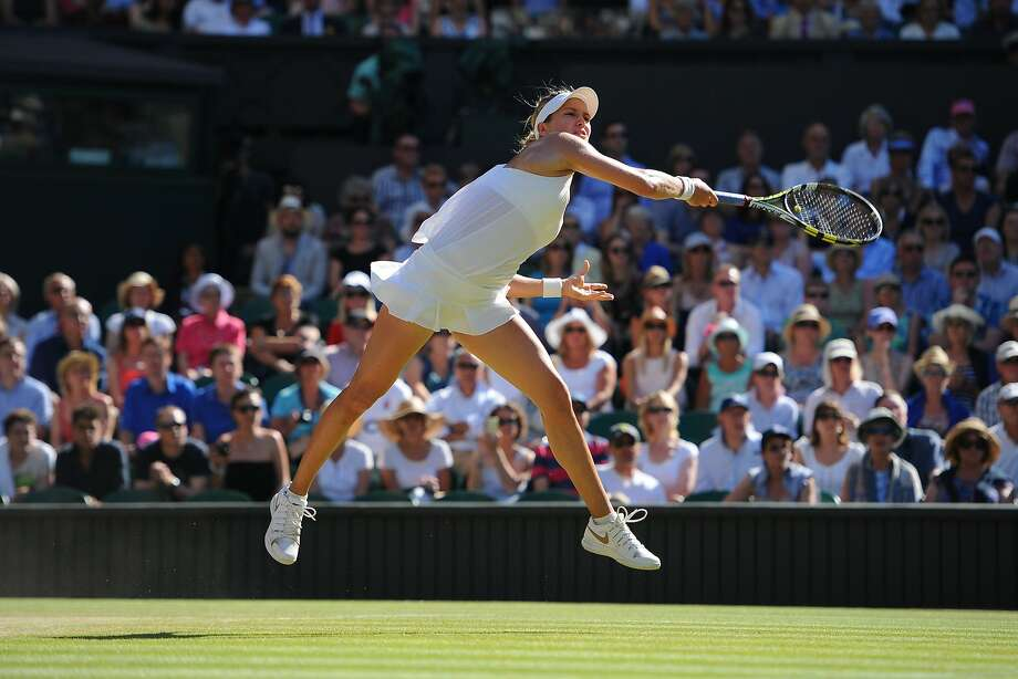 In her sixth major tournament, Eugenie Bouchard made the women's final at Wimbledon. Photo: Peter Van Den Berg, McClatchy-Tribune News Service