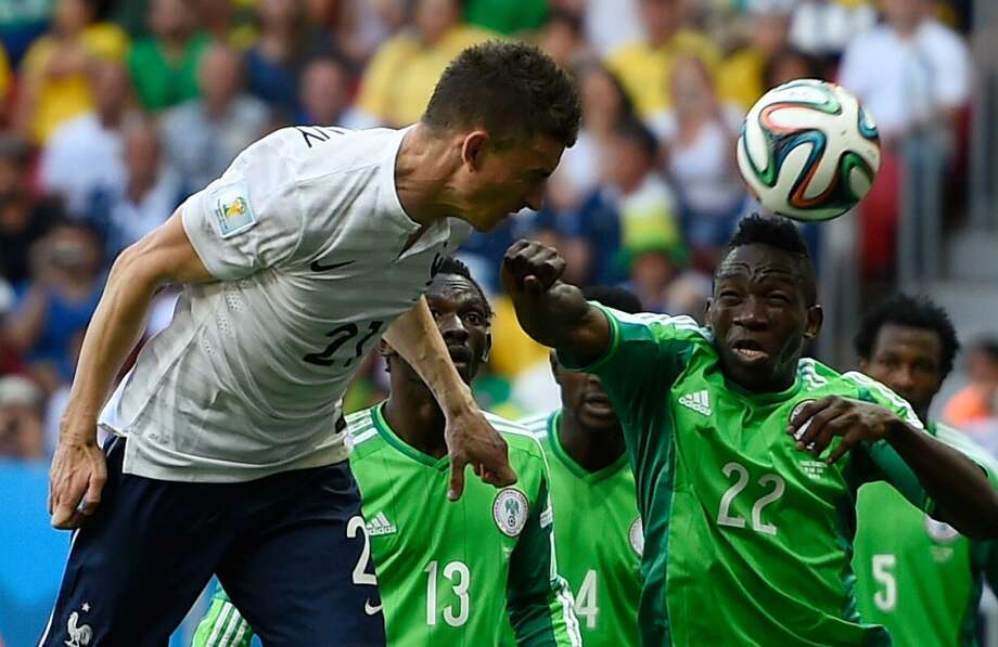France The French squad provided little drama, for a change, as Les Tricolores ran away with Group E. They had a tough time cracking Nigeria in the Round of 16, but scored two late goals to move on to the quarterfinals. Photo: Fabrice Coffrini, AFP/Getty Images