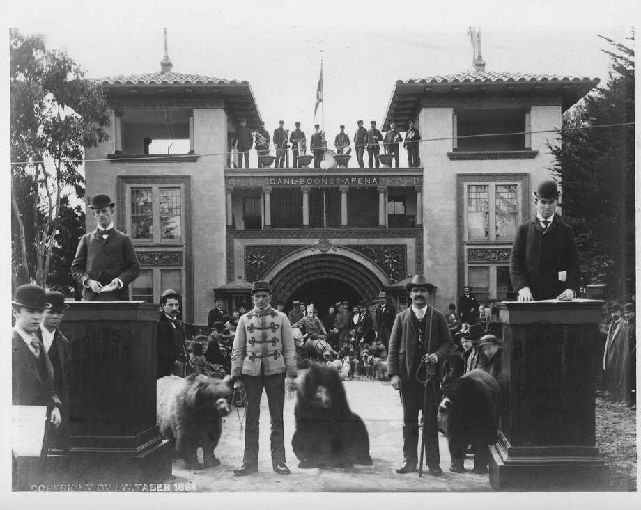 Bears were part of the show in Golden Gate Park during the California Midwinter International Exposition in 1894, a showcase for San Francisco.