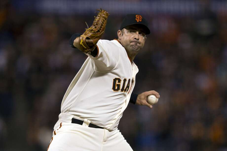 Jeremy Affeldt says the music after Tuesday's victory was a welcome sound. Photo: Jason O. Watson, Getty Images