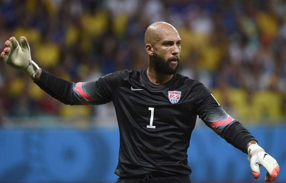 BEST  Anything Tim Howard wears is an instant classic, but the all-black goalie kit with a U.S. shield looks amazing no matter who is wearing it. Photo: MARTIN BUREAU, AFP/Getty Images