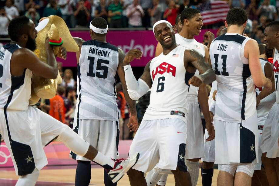 MEH  There's nothing particularly special or offensive about the Olympic basketball jerseys. Utterly forgettable. Photo: Smiley N. Pool, Houston Chronicle