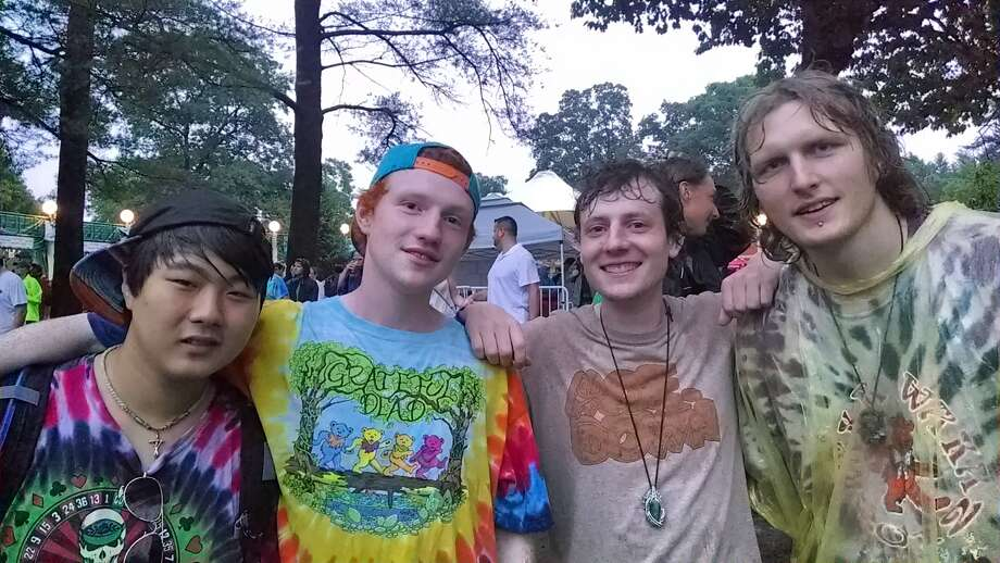 Were you Seen at the first night of the three-show Phish concert at SPAC in Saratoga Springs on Thursday, July 03, 2014? Photo: Tom Casline
