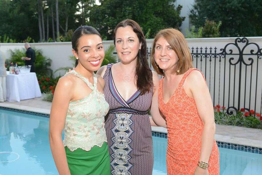 Sara Ford, from left, Shanti Conlan and Elise Arnoult Photo: Daniel Ortiz