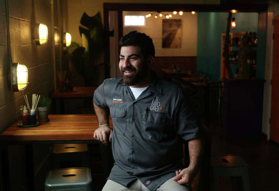 Chef/restaurateur Kevin Naderi's Lillo & Ella is located in the former El Gran Malo building. Photo: Mayra Beltran, Staff / © 2014 Houston Chronicle