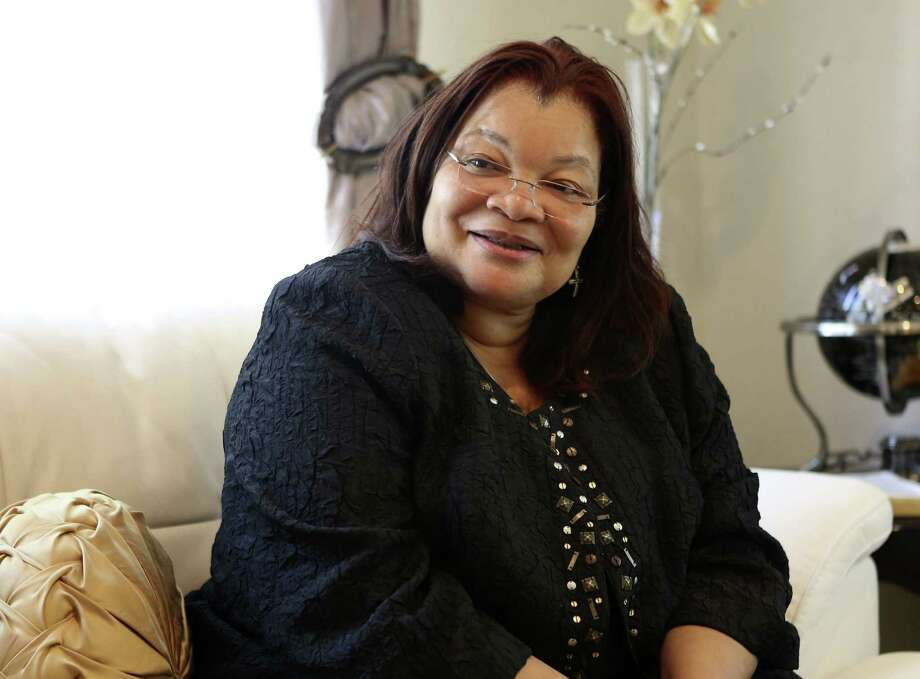 Alveda King, niece of the late Martin Luther King Jr., is helping produce a movie filmed in San Antonio by a local church and Christian film company. Photo: Helen L. Montoya / San Antonio Express-News / ©2014 San Antonio Express-News