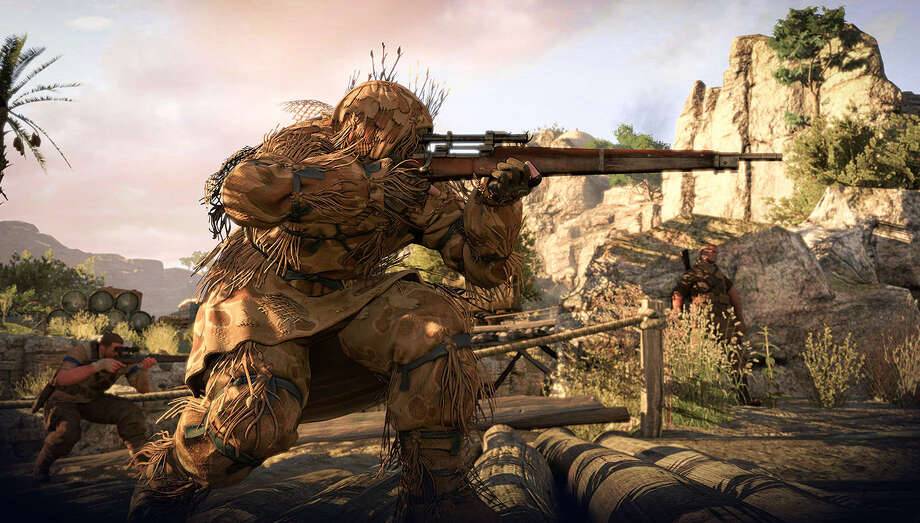 "505 Games' ""Sniper Elite III"" is a gigantic kill fest through World War II's North Africa Campaign, offering an improved single-player experience from the previous title. Photo: Courtesy 505 Games"