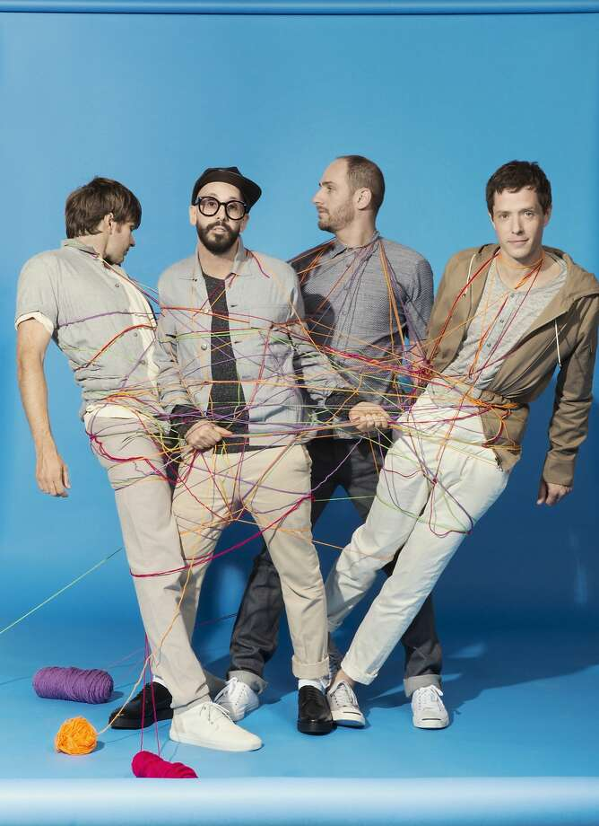OK Go and Hot Chip are set to DJ a party on New Year's Day. Photo: Gus Powell