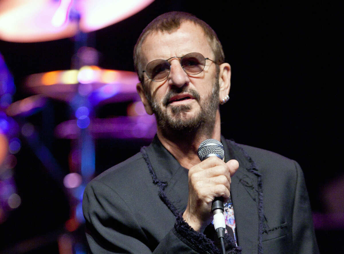 Former Beatle Ringo Starr will bring his All-Starr Band to the Tobin Center on Oct. 4.