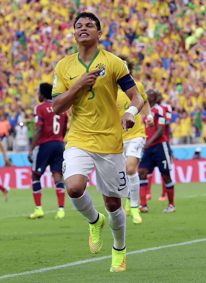 July 4  Brazil 2, Colombia 1 Photo: Manu Fernandez, STR / AP