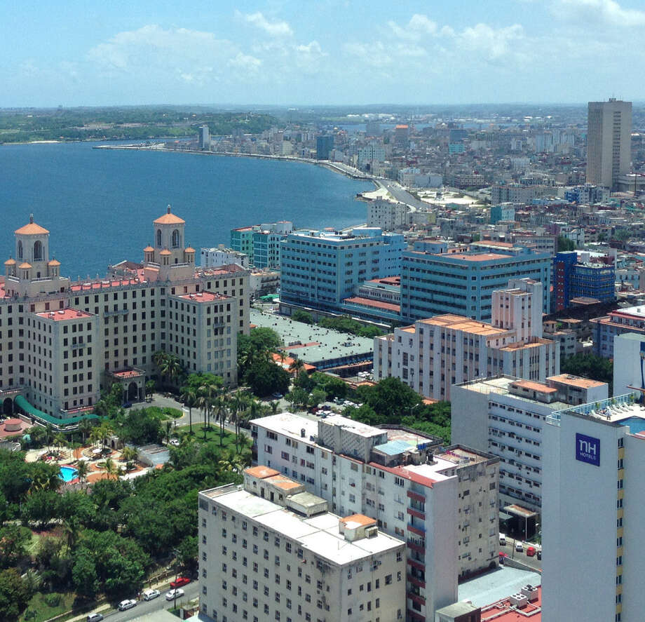 A view of Downtown Havana during a trip there by members of the San Antonio Hispanic Chamber of Commerce in late June. The trip focused on trade possibilities. Photo: Courtesy San Antonio Hispanic Chamber Of Commerce