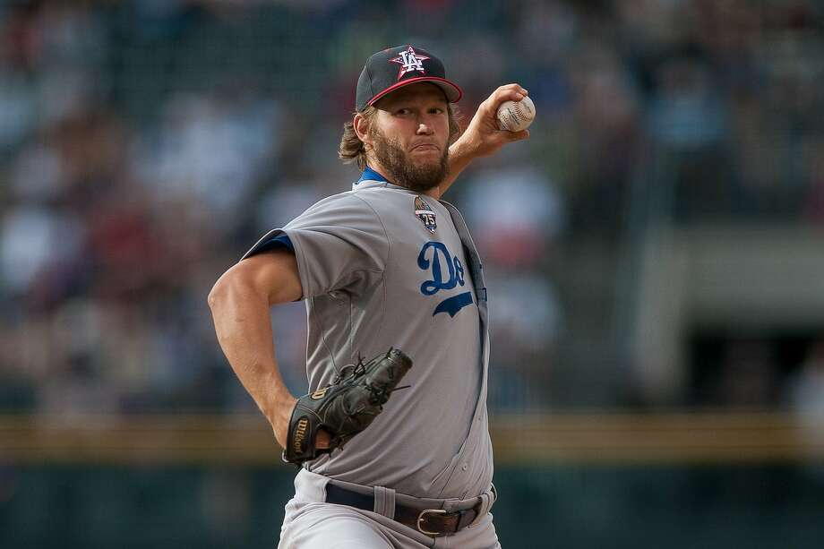 Clayton Kershaw, Los Angeles Dodgers, starting pitcher, National League. Photo: Dustin Bradford, Getty Images