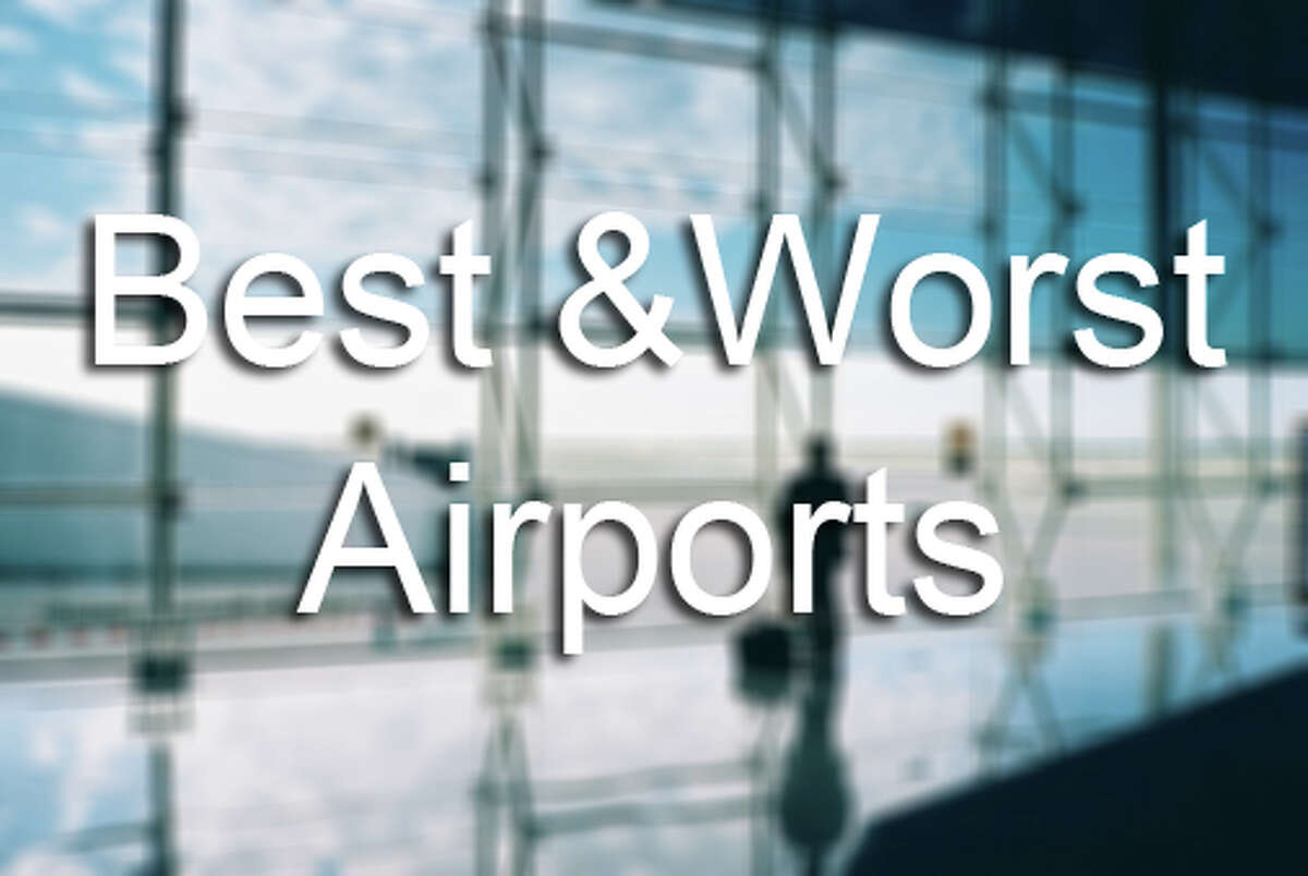 These are the best and worst airports in the U.S., according to Travel + Leisure. See where IAH ranks ...